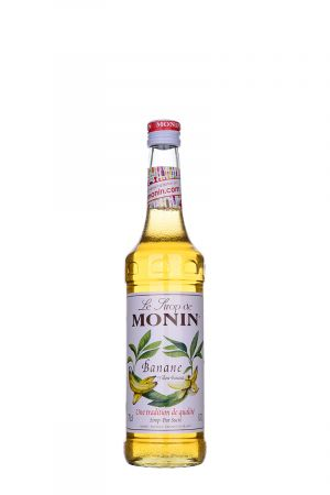 Monin Yellow Banana Syrup - Сиропи и топинги - DrinkLink