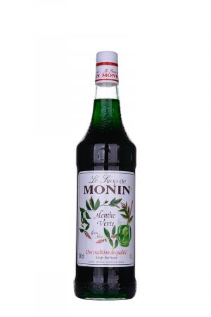 Monin Green Mint Syrup - Сиропи и топинги - DrinkLink
