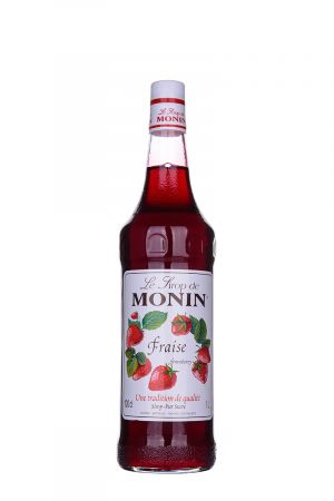 Monin Strawberry Syrup - Сиропи и топинги - DrinkLink