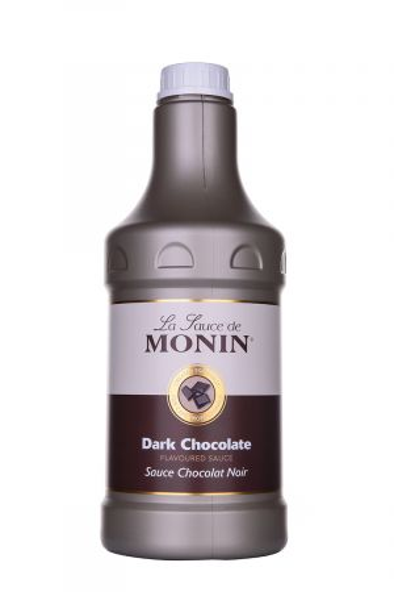 Monin Dark Chocolate Sauce - Сиропи и топинги - DrinkLink