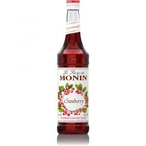 Monin Cranberry Syrup - Сиропи и топинги - DrinkLink