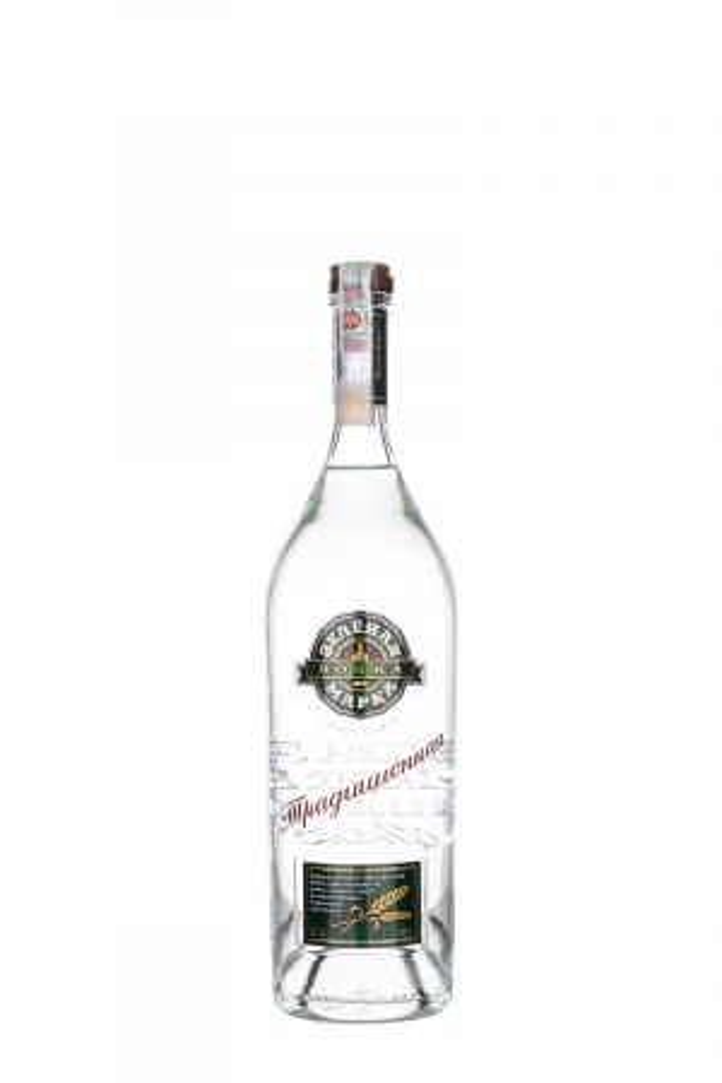 Зеленая марка Традиционная - Руска водка - DrinkLink