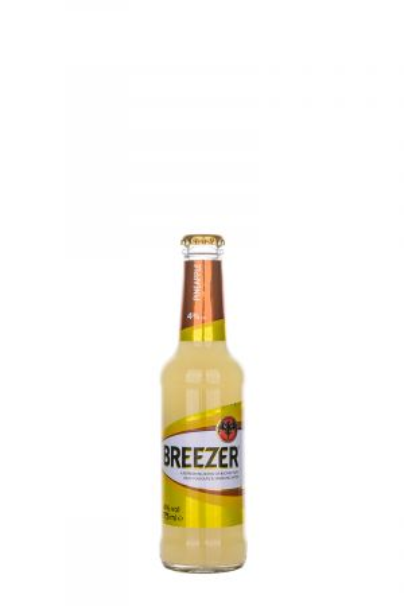Bacardi Breezer Pineapple - Готови за консумация миксове - DrinkLink