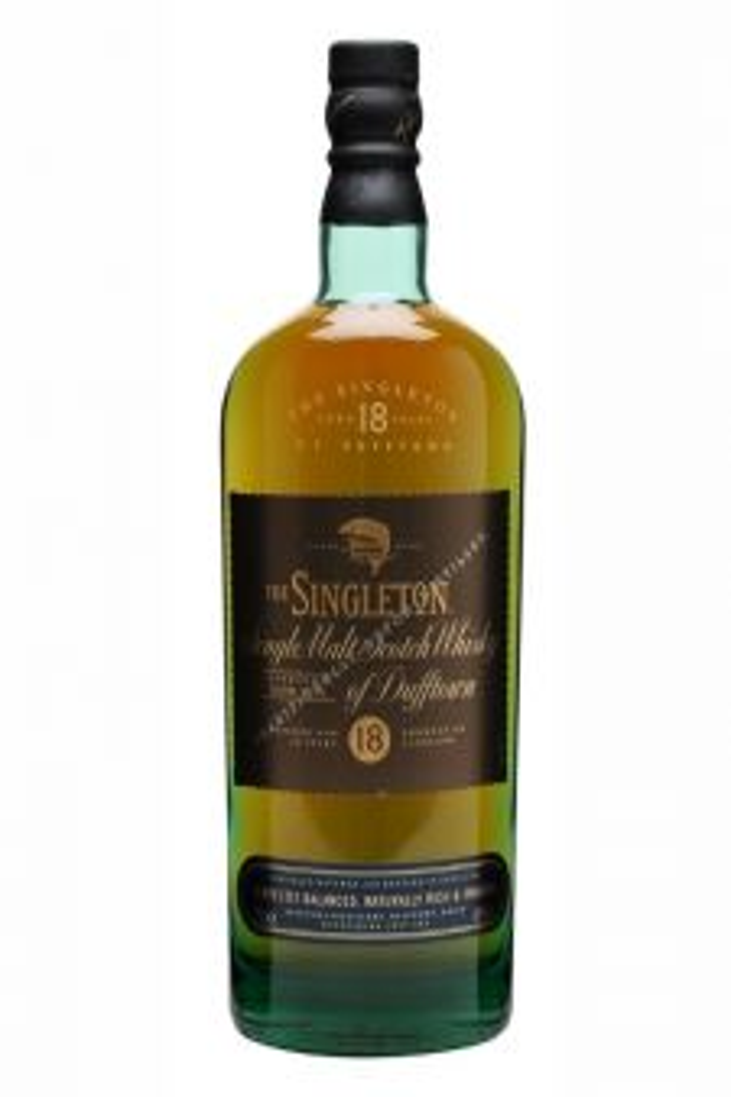 Singleton Of Dufftown 18 YO с подарък кристална чаша - Шотландско уиски малцово - DrinkLink
