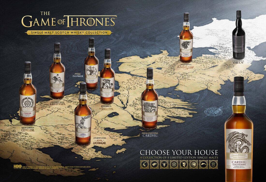 8 едномалцови уискита за последния осми сезон на Игра на тронове. Готови ли сте?